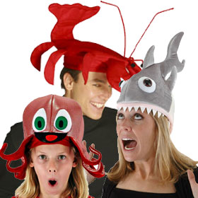 Sea Creature Hats