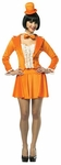 Sexy Dumb & Dumber Orange Skirt Suit