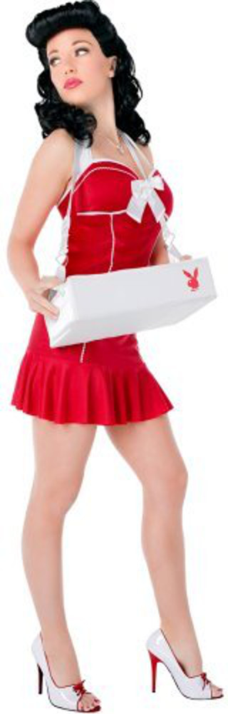 Sexy Teen Playboy Cigarette Girl Costume
