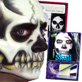 Skeleton Costume Makeup Kits