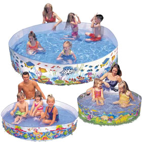 Snap Set Kiddie Pools