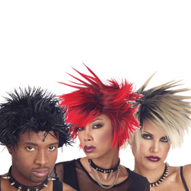 Spiked Wigs