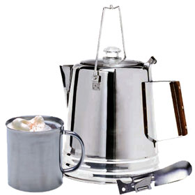 Stainless Steel Camping Cookware