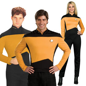 Star Trek: TNG Gold Operations Uniform