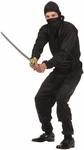 Teen Boys Black Ninja Costume