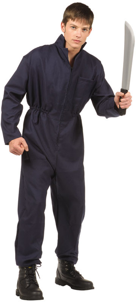 Teen Michael Myers Blue Overalls