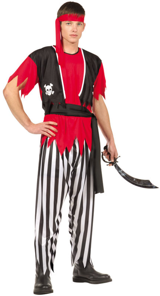 Teen Boys Pirate Costume