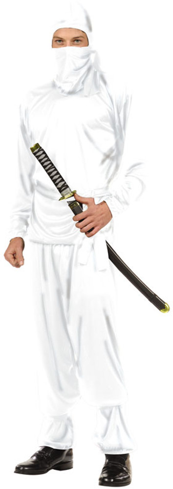 Teen Boys White Ninja Costume