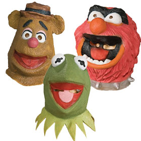 The Muppets Masks