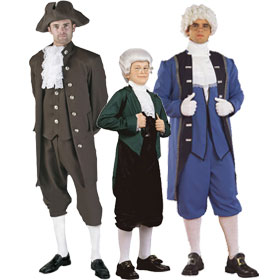 Thomas Jefferson Costumes