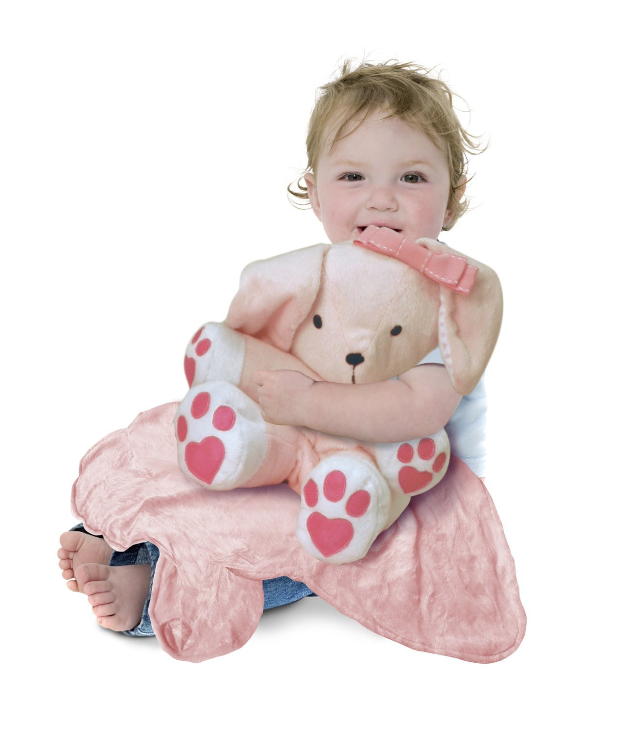 Tiny Wonders Large Cuddle Buddy Blanket, Lily Bunny