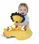 Tiny Wonders Large Cuddle Buddy Blanket: Moxie Lion