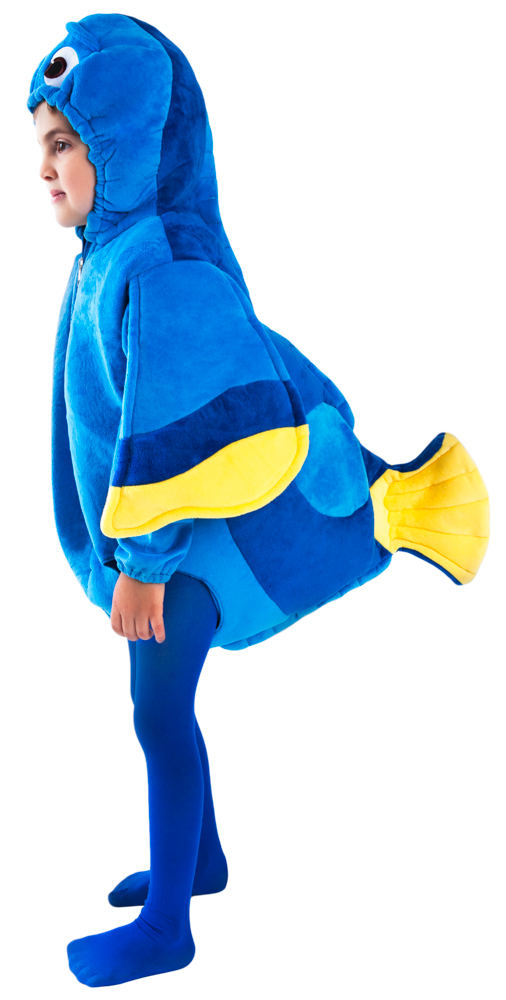 Toddler Blue Tang Fish Costume