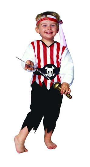 Toddler Pirate Pajama Costume