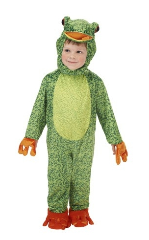 Toddler Pond Frog Costume