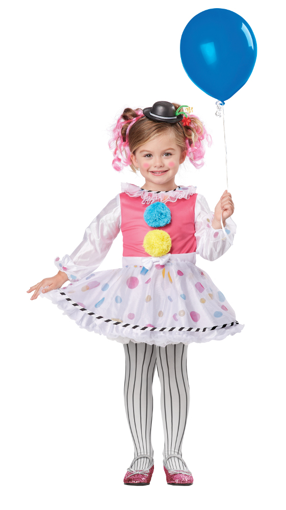 Toddler Bubbles The Clown Costume