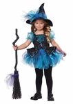 Toddlers Darling Little Blue Witch Costume