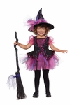 Toddlers Darling Little Pink Witch Costume