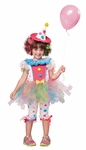 Toddlers Rainbow Clown Costume