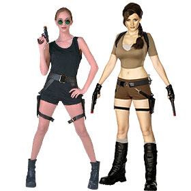 Tomb Raider Costumes