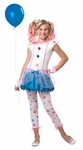 Tween Dotsy Clown Costume