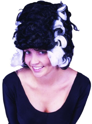 Two Tone Monster Bride Wig