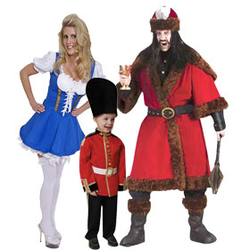 Unique International Costumes