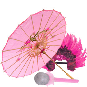 Unique Pink Costume Accessories
