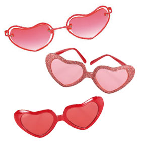 Valentine Costume Glasses
