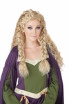 Viking Princess Blonde Wig