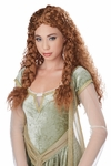 Viking Princess  Brunette Wig