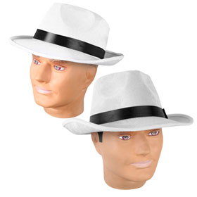 White Fedora Hats