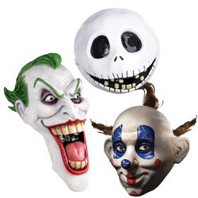 White Movie Masks