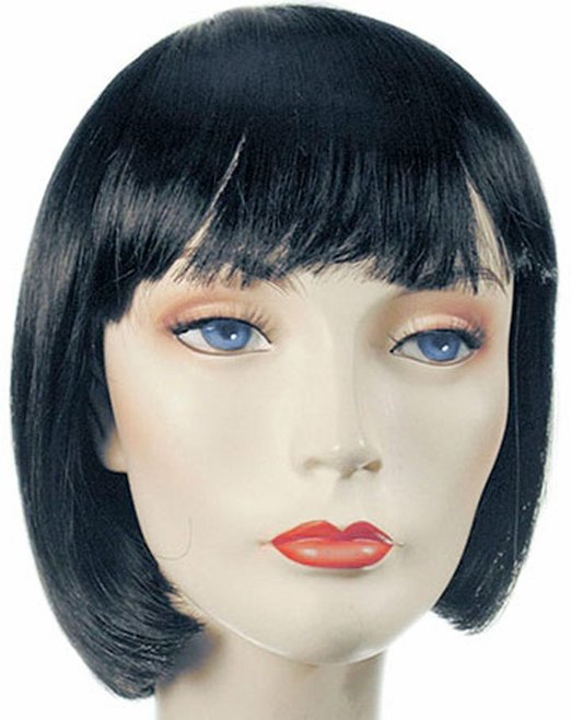Women's Mia Wallace Pulp Fiction Costume Wig
