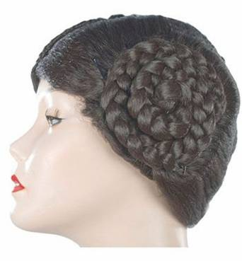 Women's Princess Leia Costume Wig