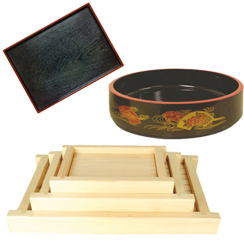 Wooden Sushi Platters