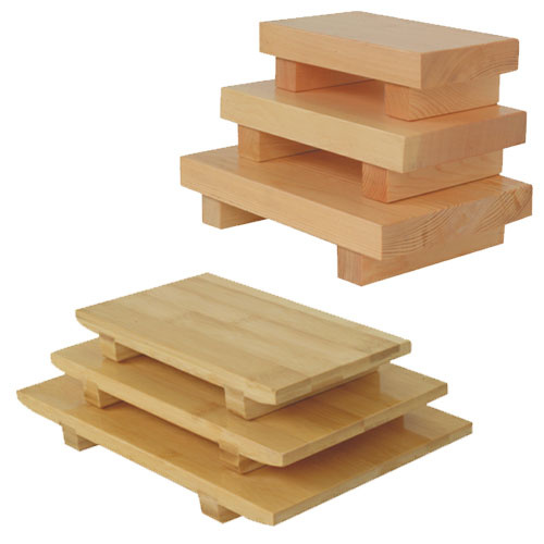 Wooden Sushi Trays