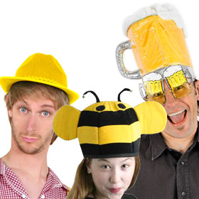 Yellow Costume Hats