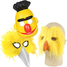 Yellow Costume Masks