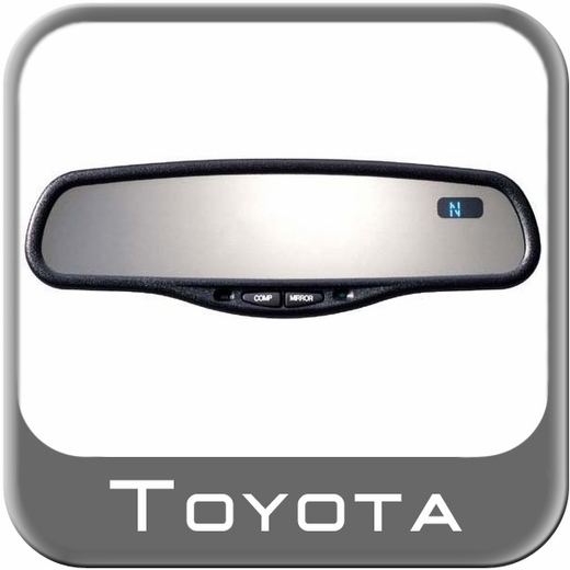 1988 2005 Toyota Camry Rear View Mirror Auto Dimming Rear