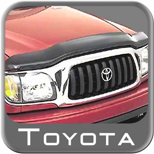 1995-2000 Toyota Tacoma Bug Deflector Smoke Colored Hood Protector Genuine Toyota #00500-35952