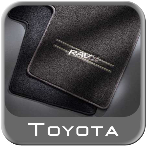 1996 2000 Toyota Rav4 Carpeted Floor Mats Gray