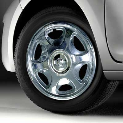 "1999 (1995-2000) Toyota Tacoma 2WD Wheel Cover 14"", Chrome Single Cover Sold Individually Genuine Toyota #00266-00960"