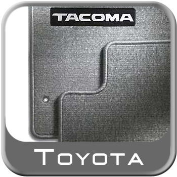 2001 2004 Toyota Tacoma Carpeted Floor Mats Light Charcoal