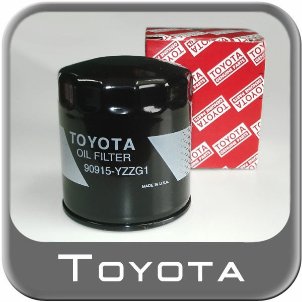 2007 2015 toyota highlander oil filter cartridge style direct factory replacement