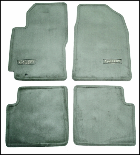 2001 Toyota Camry Carpeted Floor Mats Sage Gallery Series