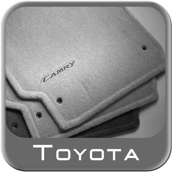 2012 2014 toyota camry rubber floor mats all weather black. Black Bedroom Furniture Sets. Home Design Ideas