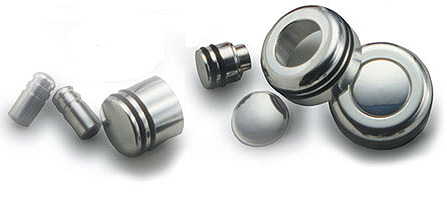 2003-2008 GMC Yukon Radio Knobs Polished Billet Aluminum