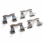 2004 (2004-2007) Scion xB 4cyl. 1.5L Brake Pad Fit Kit Retention Clip Hardware Genuine Factory Replacement Front Kit Genuine Scion #04947-47010