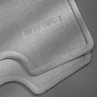 New 2004 2007 Toyota Highlander Carpeted Floor Mats From